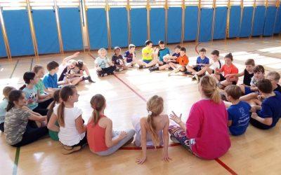 Plesni športni dan četrtošolcev